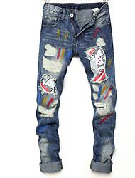 economico -Per uomo Attivo Jeans Pantaloni - Camouflage