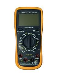 Недорогие -Портативный цифровой мультиметр dt-151c lcd для дома и автомобиля