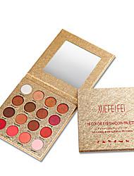 billiga -Makeup 16 färger Ögonskuggor Öga / Ögonskugga varaktig Vattentät Vardagsmakeup / Festmakeup Smink Kosmetisk