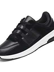 levne -Pánské Komfortní boty PU Podzim Atletické boty Běh Barevné bloky Černá / Khaki / Bílá / modrá
