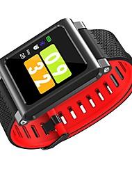 billige -Smart Armbånd G8 for iOS / Android Pulsmåler / Vandtæt / Blodtryksmåling / Brændte kalorier / Lang Standby Skridtæller / Samtalepåmindelse / Sleeptracker / Stillesiddende Reminder / Find min enhed