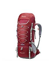 Недорогие -Mountaintop® 75+10 L Заплечный рюкзак - Дожденепроницаемый Воздухопроницаемость Пригодно для носки На открытом воздухе Пешеходный туризм Походы Горные лыжи 100 г / м2 полиэфирный стреч-трикотаж