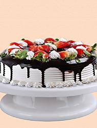 baratos -bolo de decoração leve bolo sólido turntable diy decoração com fabricante de bolo anel