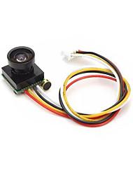 Недорогие -600tvl ультра-малый объем 5v 170 градусов цветная микрокамера с микрофонным аудио для микро-quadcopter fpv воздушной камеры