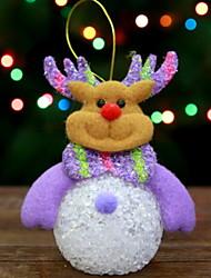 Недорогие -Рождественский декор Праздник Хлопковая ткань Квадратный Мультипликация / Оригинальные Рождественские украшения