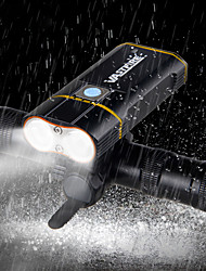 cheap -Front Bike Light LED Bike Light Cycling Waterproof, Multiple Modes 18650 2000 lm Camping / Hiking / Caving