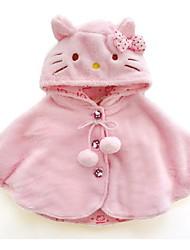 preiswerte -Baby Mädchen Solide Langarm Jacke & Mantel