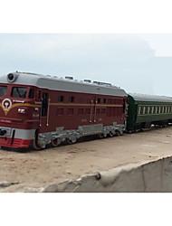 Недорогие -Игрушечные поезда и наборы Поезд Шлейф Мерцание / моделирование Пластиковые & Металл / Металлический сплав Все Дети Подарок 1 pcs