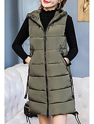 economico -maglia lunga da donna - con cappuccio tinta unita