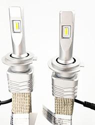 Недорогие -1 комплект h7 pk26d 45w 6000lm zes светодиодный фонарик комплект 6000k белый цвет легкость