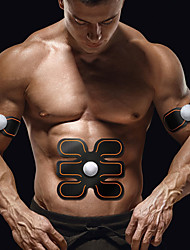 cheap -Abs Stimulator / Abdominal Toning Belt With 3 pcs Wireless Tummy Fat Burner, Abdominal Toning, Muscle Building For Exercise & Fitness / Gym / Bodybuilding Arm, Leg, Abdomen Men / Women