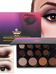 cheap -14 Colors Eye Shadow EyeShadow Full Coverage / smoky Daily Makeup / Halloween Makeup / Party Makeup Makeup Cosmetic