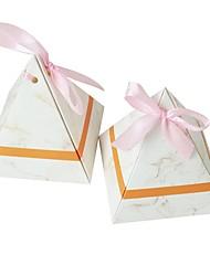 Недорогие -Bicone Shape Картон Бумага Фавор держатель с Узоры / принт Подарочные коробки - 25 шт.
