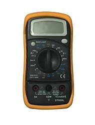 Недорогие -Портативный цифровой мультиметр dt850l lcd для дома и автомобиля