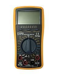 Недорогие -Портативный цифровой мультиметр dt4300a lcd для дома и автомобиля