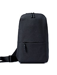 billiga Sport och friluftsliv-Xiaomi 4 L Axelremsväska - Lättvikt, Regnsäker Utomhus Camping, Cykel, Resor Polyester Mörkgrå, Grå