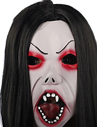 cheap -Holiday Decorations Halloween Decorations Halloween Masks / Halloween Entertaining Decorative / Cool black top and white bottom 1pc