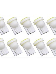 cheap -10pcs T10 Car Light Bulbs 1 W COB 50 lm 1 LED Turn Signal Light For