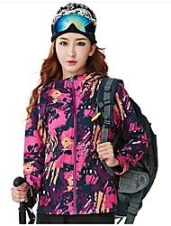 cheap -Women's Hiking Softshell Jacket Outdoor Windproof, Anatomic Design, Wearable Jacket / Winter Jacket / Top Waterproof / Single Slider Camping / Hiking / Traveling / Bike / Cycling