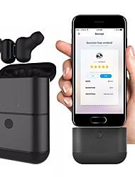 abordables -Factory OEM LX-X2 EARBUD Bluetooth 4.2 Ecouteurs Ecouteur ABS + PC Téléphone portable Écouteur Avec Microphone / Avec boîte de recharge Casque