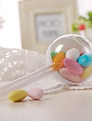 baratos -Circular Plástico Suportes para Lembrancinhas com Combinação Caixas de Ofertas - 12pcs