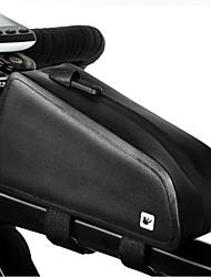 Недорогие -RHINOWALK Бардачок на раму / Браслет сумка 6.5 дюймовый Водонепроницаемость Велоспорт для Samsung Galaxy S6 / iPhone SE / 5s / 5 / iPhone 5c Черный / iPhone 8/7/6S/6