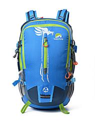 abordables -35 L Mochilas - Listo para vestir, Transpirabilidad Al aire libre Senderismo, Camping, Viaje Rojo, Verde, Azul