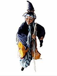 Недорогие -Праздничные украшения Украшения для Хэллоуина Хэллоуин Развлекательный Декоративная Синий 1шт