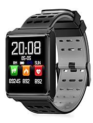 billige -Smart Armbånd JSBP-N98 for Android iOS Bluetooth Sport Vandtæt Pulsmåler Blodtryksmåling Touch-skærm Skridtæller Samtalepåmindelse Aktivitetstracker Sleeptracker / Brændte kalorier / Find min enhed