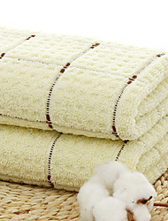 Недорогие -Высшее качество Полотенца для мытья, В клетку 100% хлопок Ванная комната 1 pcs