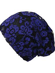billige -Dame Basale / Ferie Blød Hat Net, Blomstret