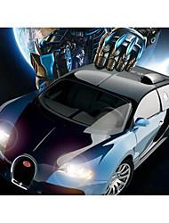 baratos -Carro com CR Rastar 70440 4CH 2.4G Carro 1:14 8.3 km/h KM / H USB / Bateria Recarregável / Controle Remoto