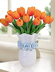 cheap -Artificial Flowers 8 Branch Classic / Single Rustic / Simple Style Tulips Tabletop Flower