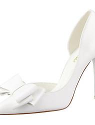 povoljno -Žene Cipele PU Ljeto Obične salonke Cipele na petu Stiletto potpetica Bijela / Plava / Pink