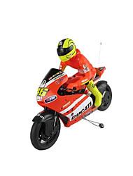 baratos -Rastar 60210 Motocicletas 1:10 Carro com CR 8 km/h 2.4G Alguma montagem necessária Côr da Caixa / Baterias / 1 x Controle Remoto Controle Remoto / Luminoso