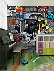 abordables -fond d'écran / Mural Toile Revêtement - adhésif requis Décoration artistique / Motif / 3D