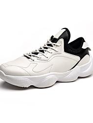 Недорогие -Муж. Полиуретан Наступила зима Удобная обувь Спортивная обувь Беговая обувь Белый / Черный / Красный