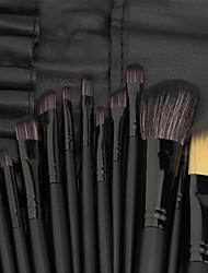 economico -32pcs Pennelli per il trucco Professionale Pennello per cipria / Pennello per ombretto / Pennello per labbra Coppa larga Plastica