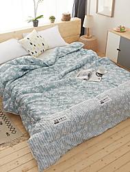 baratos -Confortável - 1 Cobertura de Cama Verão Algodão Geométrica