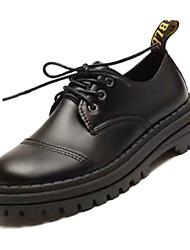 0f45679a0c69 Γυναικεία Παπούτσια άνεσης PU Φθινόπωρο Καθημερινό Oxfords Επίπεδο Τακούνι  Μαύρο