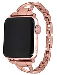 economico -Lega Cinturino per orologio  Cinghia per Apple Watch Series 3 / 2 / 1 Oro 17cm / 6,69 pollici 0.8cm / 0.31 Pollici