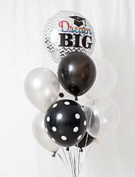 cheap -Balloon Bundle Latex 9pcs Graduation