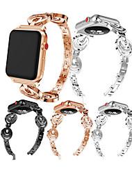 Недорогие -Ремешок для часов для Fitbit Versa Fitbit Современная застежка / Дизайн украшения Металл Повязка на запястье