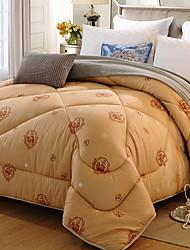 Недорогие -удобный - 1 одеяло Зима Пух белого гуся Геометрический принт