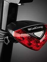 Недорогие -задние фонари Светодиодная лампа Велосипедные фары Велоспорт Водонепроницаемый, Регулируется, Прочный AAA 50-100 lm Красный Велосипедный спорт - CoolChange
