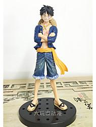 preiswerte -Anime Action-Figuren Inspiriert von One Piece Monkey D. Luffy PVC 18 cm CM Modell Spielzeug Puppe Spielzeug