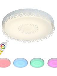 billiga -Ecolight™ Linjär / Originella Takmonterad Glödande Målad Finishes Aluminium Flerfärgad skärm, Kreativ, Bimbar 110-120V / 220-240V RGB LED-ljuskälla ingår / Integrerad LED / FCC / VDE