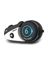 Недорогие -V6 Bluetooth 3.0 Гарнитуры Bluetooth Висячий стиль уха Bluetooth / MP3 / Многоязычный домофон Мотоцикл