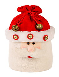 baratos -Sacos de Presentes Natal / Férias Não-Tecelado Cubo Novidades Decoração de Natal