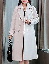 olcso -Alkalmi Női Kabát - Egyszínű